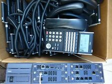 NEC SV8100 Univerge w 20x h/sets. GST inc  & 12 months wty