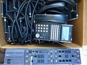 NEC SV8100 Univerge w 10x h/sets. GST inc  & 12 months wty
