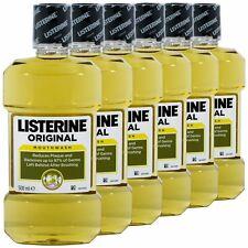 (8,56€/L) 6x Listerine Original - Mundspülung 500ml