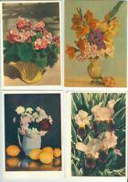 Blüten und Früchte. Russische Ausgabe. 33 Postkarten
