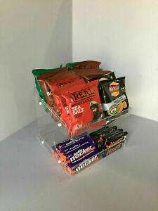 Sweet Chocolate Bar Crisps 2 Tier Counter Display (impulse buys)