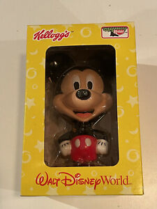 "🌟Mickey Mouse Bobblehead WALT DISNEY WORLD 8"" Large NIB Kellog's Keebler🌟"