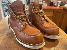 Red Wing Heritage 875 Men's 8.5 Oro-Legacy Wedge Sole