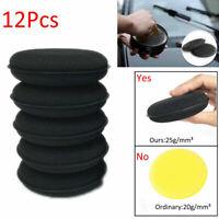 12x Waxing Polish Foam Sponge Wax Applicator Cleaning Detailing Pads for Car New