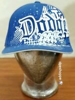 MLB Los Angeles Dodgers '47 Brand Amp'd Up Baseball FlexFit Cap Hat L-XL