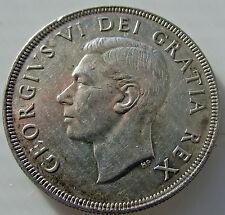 Canada 1951 SWL  Silver Dollar $ 1 Coin  Variety