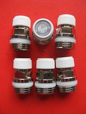 "6 Vent valve 1/2""Radiator Air plug Self sealing vent Caleffi"
