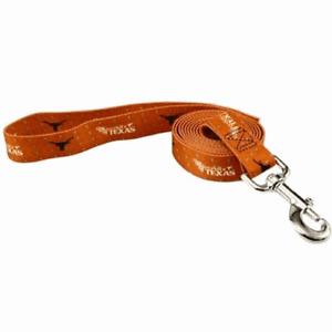 TEXAS LONGHORNS NCAA DOG LEAD (ALL SIZES)~NEW~