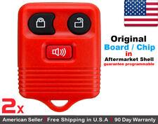 2x OEM Keyless Entry Remote Control Key Fob For Ford 2L3T-15K601-AB
