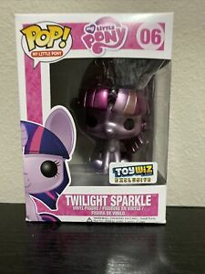 Funko POP! My Little Pony Figure TWILIGHT SPARKLE (Metallic) #06 (Exclusive)