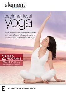 Element - Beginner Level Yoga (DVD) NEW/SEALED