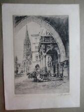Vintage Print,MUNSTER,Paul Geissler,1924