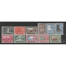 MALAYA - KEDAH 1957 SULTANO  BADLI - SHAH 12 V MNH YV 89/99 MF51096