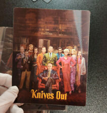 KNIVES OUT - Multi Image Lenticular 3D Flip Magnet Cover FOR bluray steelbook