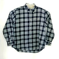 Munsingwear Mens Size XL Shirt Flannel Feel Long Sleeve Plaids Checks