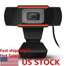 Rotatable 2.0 HD Webcam PC Laptop USB Camera Video Recording with Microphone HOT