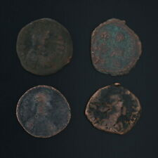 Ancient Coins Roman Artifacts Figural Mixed Lot of 4 B7226