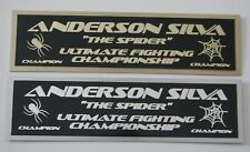 Anderson Silva UFC nameplate for signed mma gloves photo or case