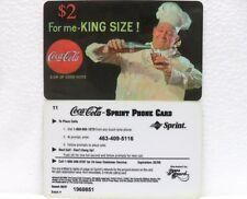 Coca-Cola - SCORE BOARD-SPRINT PHONE CARD n° 09 - sc. 02-98-scheda telefonica