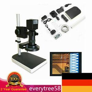 16MP HDMI Industrie Mikroskop CMOS Kamera 1080P mit C-Mount Objektiv & Ständer