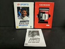 Mario Andretti Racing (Sega Genesis) Complete