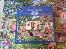 Gibson 1000 piece jigsaw - Caravan Escape - Complete