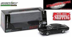 GreenLight 1/43 Scale Model Car 1968 Dodge Charger Bullitt Steve Mcqueen #86432