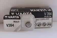 50UDS. Baterías Originales en Blister Varta V394 V 394 394 SR 936SW