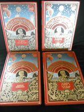 4 volumes, Jules Verne Edition de l'agora Genève 1981