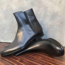 NEW $1080 Maison Margiela Black Leather Chelsea Boots - Size 43 / 10