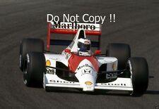 Jonathan Palmer McLaren MP4/5B Testing F1 Season 1990 Photograph