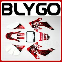 3M PITBOSS Decal Graphics Sticker Kit CRF50 Fairing Plastic PIT PRO Dirt Bike