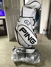 Ping G2 White Leather Tour Bag,