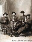 Four Men Drinking Beer - Historic Photo Print