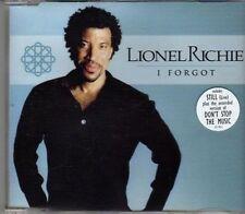 (CH12) Lionel Richie, I Forgot - 2001 CD