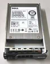 Dell 100GB SATA SSD 2.5in DYW42 Drive w/3R81M Tray PowerEdge R610 R710 R810 R910