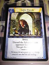 HARRY POTTER TRADING CARD GAME TCG BASIC LOGIC PUZZLE 56/116 UNCO ENGLISH MINT