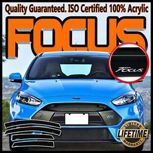 For 2012-2018 Ford Focus Sedan Hatchback Door Window Visor Deflector Vent Guard