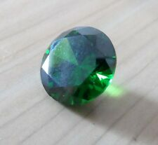 12mm AAA Natural Mined Green Emerald Round Faceted Cut 10.28ct VVS Loose Gems