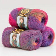 Lion Brand Yarn 825-212 Amazing Yarn, Mauna Loa (Pack of 3 skeins)