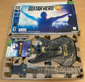 Guitar Hero Live Bundle XBOX 360 Controller Strap Dongle Game Complete