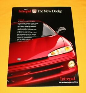 Dodge Intrepid 1997 USA Prospekt Brochure Catalogue Depliant Prospetto Prospecto