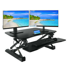 Standing Desk 36 inch Height Adjustable Desk Converter Workstation Home Office