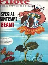 LE JOURNAL TINTIN N°908 . 1966 + FLYER ASTÉRIX ET OBÉLIX POUR PILOTE PRINTEMPS .