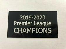 Liverpool Premier League 19-20 - 130x70mm Engraved Plaque for Signed Memorabilia