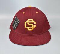 USC Trojans Vintage NCAA Classic Sportswear Fitted Cap Hat - Size: 7 3/8