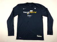 Utah Jazz Nike Long Sleeve Shirt Men's Navy Blue Dri-Fit New Multiple Sizes