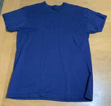 Hanes - Men's T-shirt - L - Steel Blue - EUC