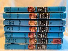 The Hardy Boys 7-Book Set HC #1, 3, 11, 21, 29, 34, 54 Lot Franklin Dixon