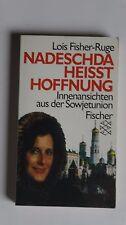 T122 - Lois Fisher-Ruge - Nadeschda heisst Hoffnung - 1990